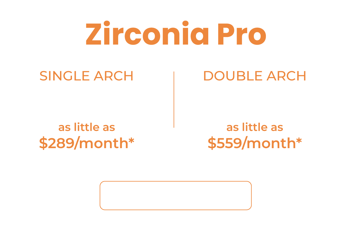 All Zirconia Pro Pricing